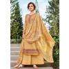 Yellow Embroidered Pakistani Salwar Suit USA
