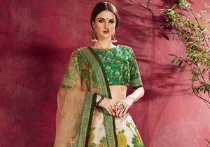 Bridal Wear Ideas: Bloom Your Wedlock Vows In Floral Lehengas